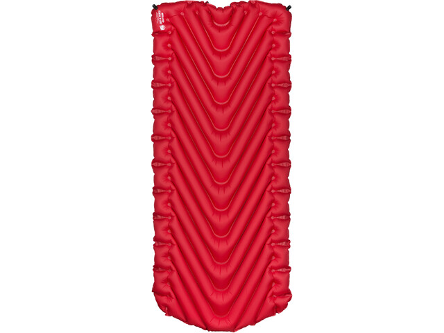 Klymit Insulated Static V Luxe Sovemåtte, rød